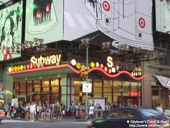 뉴욕 지하철 이용하기 (MTA) : 타임스퀘어 - 코리아타운 (Korea Town)
