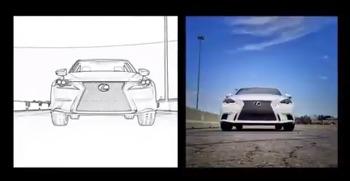 2014 Lexus IS: #LexusInstafilm, SNS 인스타그램을 활용한 기발한 광고 영상 제작