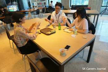 SK이노베이션 계열 신입사원을 만나다