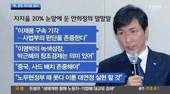 안희정은 제 2의 김영삼이 되고 싶은가?