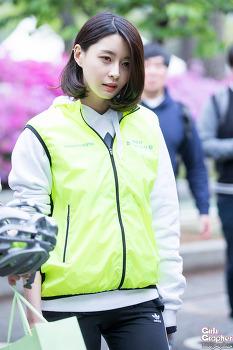 [PHOTO] 160421 자전거의 날 기념행사 - 헬로비너스 나라 by Girls Grapher