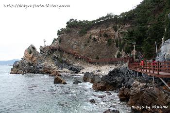 [강릉여행] 바다부채길, 60년만에 개방된 정동진과 심곡항사이 해변길