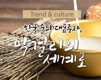 한국 술의 대표주자, 막걸리의 세계로