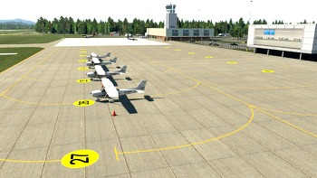 [X-Plane]Uljin Airport(RKTL) in Development