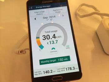 [IFA 2014] 삼성전자가 선보인 가정 생활의 미래 '스마트홈'