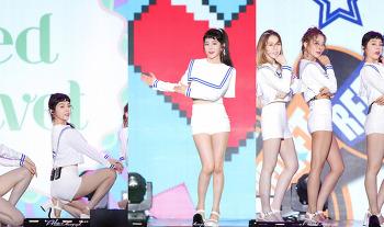 170724 음악중심 울산썸머페스티벌 레드벨벳 아이린 슬기 직캠 by 아데스