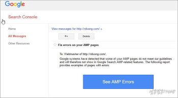 구글 웹마스터도구에 올라온 AMP 페이지 에러 있으니 블로그 점검 해라 [ 해결 방법 ]