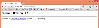 QNAP NAS SVN 설치 및 Apache 연동