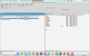 리눅스용 Total commander 프로그램  Double commander