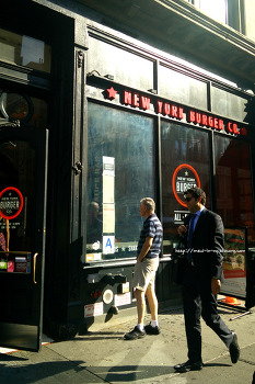 [Flatiron] 깔끔하고 신선한 버거가게 New York Burger Co.