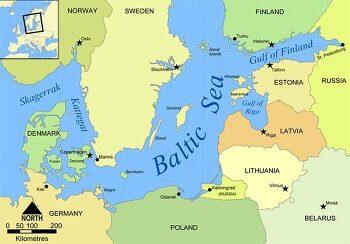 발트 3국은 이제 동유럽에서 북유럽 국가에 속해
