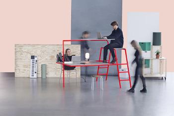 2층 책상 - Bunkdesk
