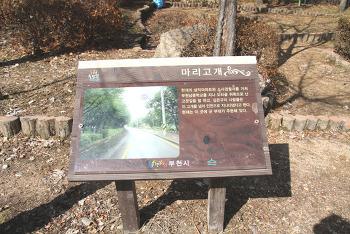 부천 거마산(성주산옆) 등산기???