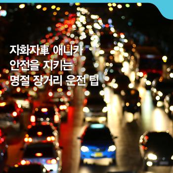 안전을 지키는 설 명절 장거리 운전 팁 [자화자車 애니카]