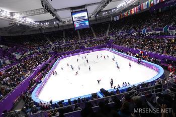 2018 평창 동계 올림픽 스피드 스케이팅 경기 직관 후기 - 여자 500m 예선 / 3000m 계주 결승