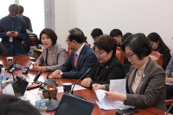 [한정애 국회의원] 노동시간 단축법 환노위 통과 기자간담회