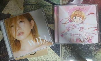 [음반]Will(마키노 유이) ,Jewelry(카드캡터 사쿠라 클리어카드 편 ed)을 구입했습니다.