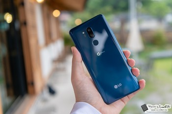 LG G7 씽큐 개봉기, 노치 보다 아쉬운 지점은?