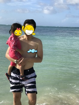 아기와 함께하는 사이판 자유여행(6) / 피에스타리조트,로코앤타코,마이크로비치(아메리칸 메모리얼 파크)