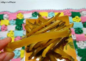 고구마 말랭이 만드는법, 쫄깃쫄깃 중독성 간식