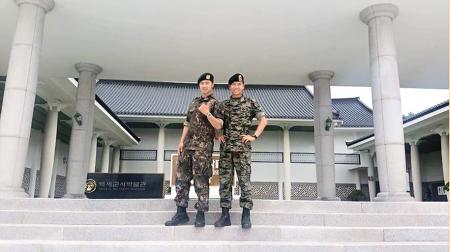 이승기 근황, 태양의 후예2 찍는듯한 이승기 군대 생활 사진