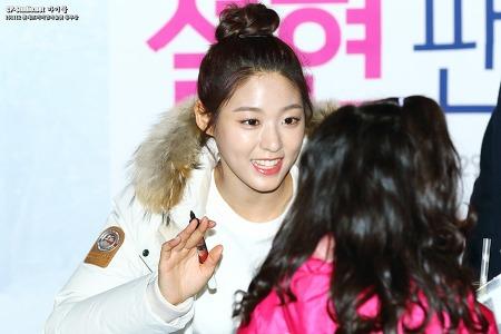 [16.11.12] 롯데몰동부산점 AOA 설현 콜핑 팬싸인회 직찍 by 마이콜