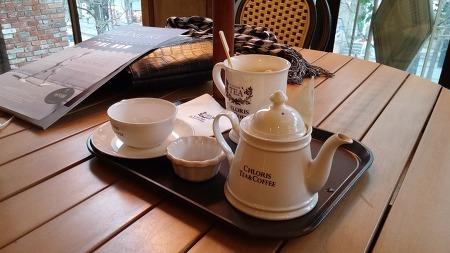 클로리스 홍대점, 차 그리고 커피