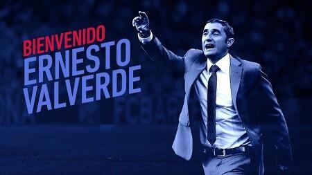 [오피셜] 바르셀로나의 새 감독, 에르네스토 발베르데
