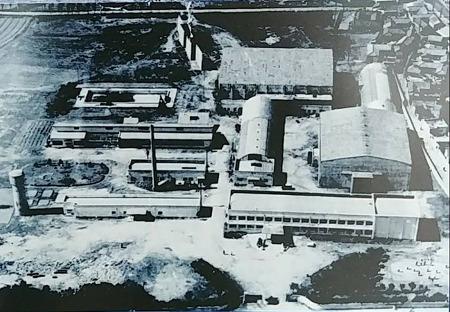 1960년대 안양 석수동에 자리했던 신필름 전경