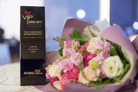 아시아를 빛낸 에몬스 리찌 소파 시리즈 VIP ASIA Awards 2017 가구 부문 수상!
