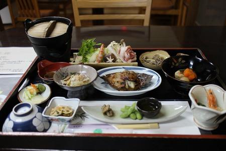 [기리시마]유노타니산소-식사