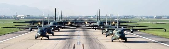 [2016 UFG 연습] 공군 공중기동작전의 핵심 전력 허큘리스! 대규모 긴급대피 훈련