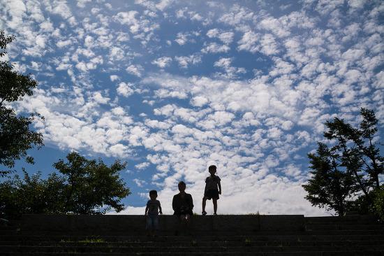 흰구름, 솜구름, 탐스러운 애기구름....