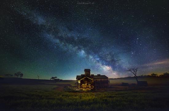 목장의 밤