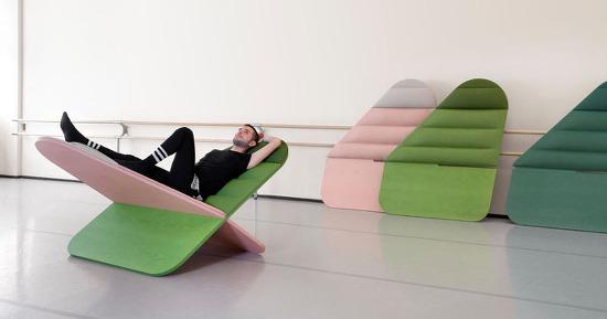 *라운지 체어 The design of this lounge chair was inspired by the symbol for infinity