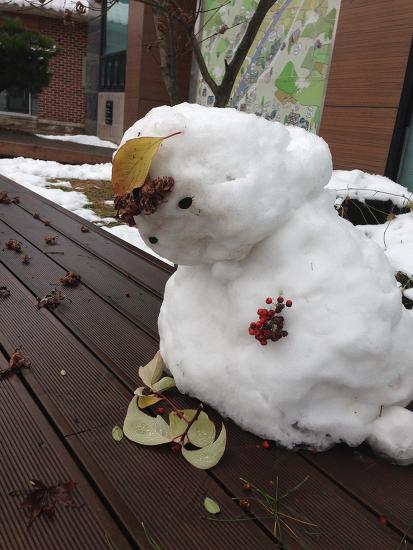 안녕 눈사람 아저씨