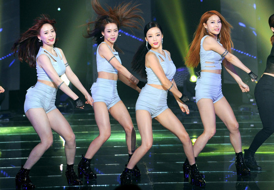 Kara (カラ) THE show All About K-POP 「マ..