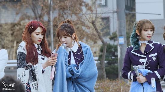 [180317] 우주소녀(WJSN) 말꼬리(COVER) 설아 직캠 By SuYa @음악중심 미니팬미팅