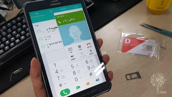 네비로 사용하기 좋은 태블릿 추천 삼성 갤럭시탭액티브 SM-T365