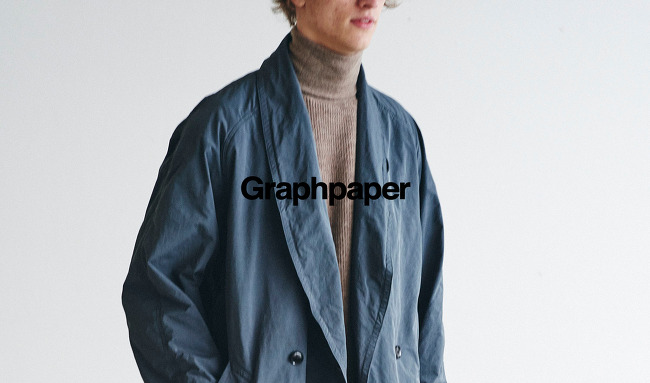 GRAPHPAPER : 2016 FALL/WINTER COLLECTION