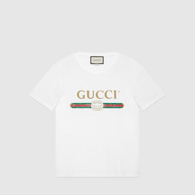 구찌 로고 티셔츠 + 도버 스트리트 마켓