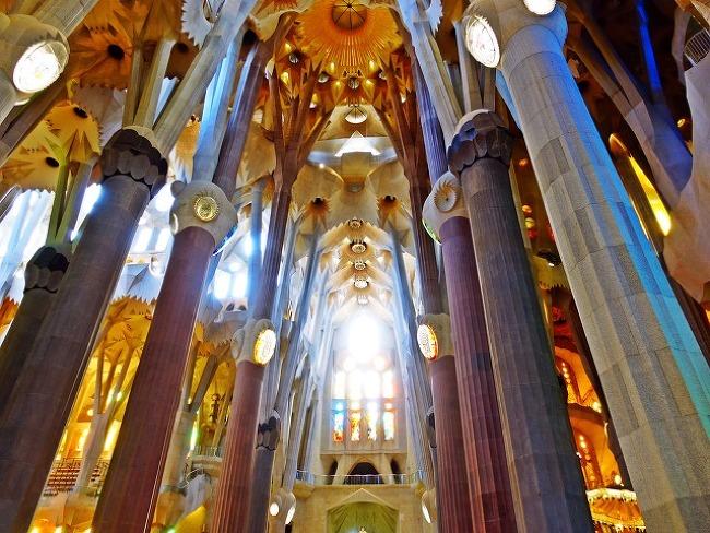 바르셀로나 탐방(4) : 사그라다 파밀리아 성당