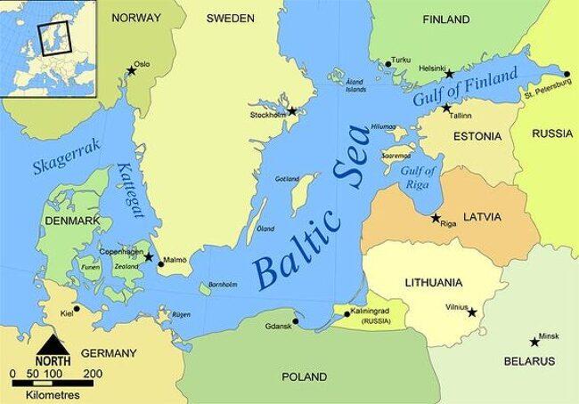발트 3국은 이제 동유럽에서 북유럽 국가에 속..