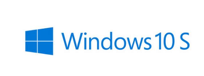 윈도우10s에 대해서