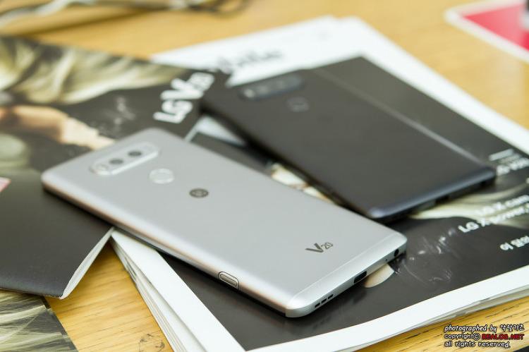 안드로이드 7.0 누가와 B&O PLAY를 탑재한 LG V20 디자인과 KT 구매 혜택은?