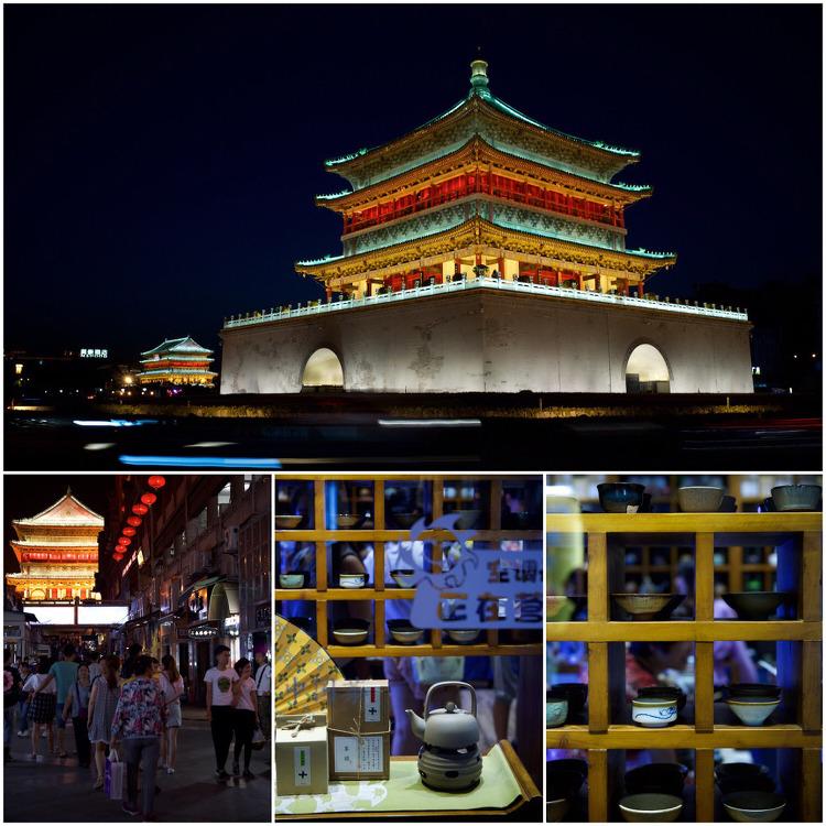 회족거리, 시안, 중국