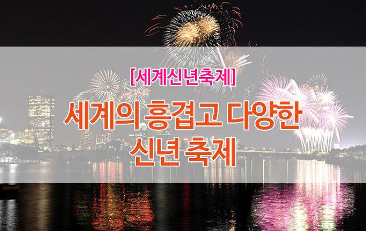 [여행정보] 세계의 흥겨운 신년 축제 #세계 #신년 #축제..