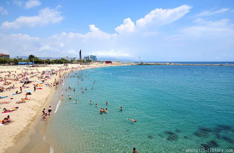 스페인 바르셀로나 여행 팁, 바르셀로나 해변(Barcelona Beach)