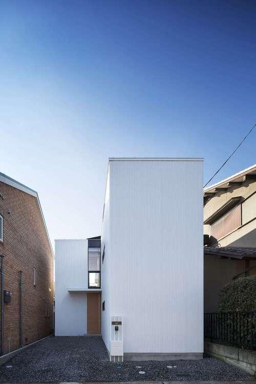 *일본의 협소주택-[ CONTAINER DESIGN ] House in Shimamoto-cho