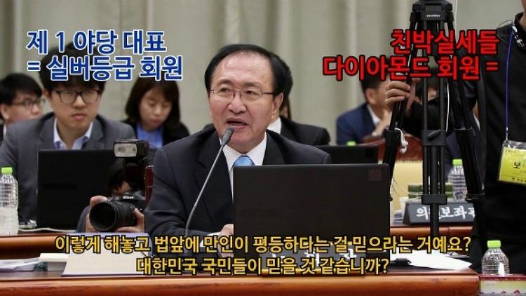 """노회찬, """"검찰고객등급 -최경환,윤상현,현기환.."""